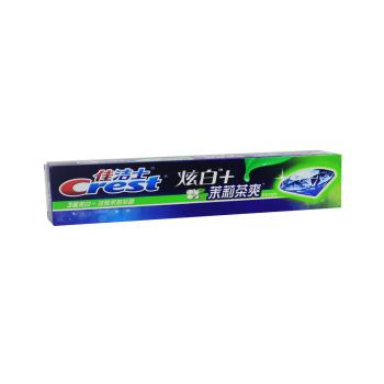 佳洁士牙膏茶爽炫白茉莉茶香型180g