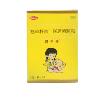 韩美 妈咪爱 枯草杆菌、肠球菌二联活菌多维 颗粒 10袋