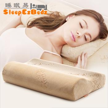 睡眠易 康复记忆枕  护颈椎保健枕头 慢回弹记忆棉健康枕 防菌抗螨舒睡枕头 止鼾枕头(专利产品)