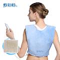 信乐敷轻松(肩背部)超柔豪华款远红外电子热敷垫艾灸组合装