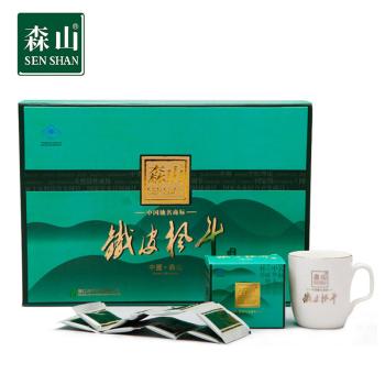 森山铁皮枫斗冲剂(精品礼盒装)3g*8包*5小盒