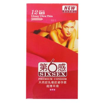 第六感超薄平滑避孕套12只装(LB12)