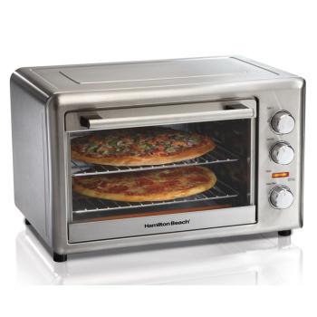 汉美驰 31103-CN 大容量烘焙烤箱 家用可商用  搪瓷内胆多功能烤箱