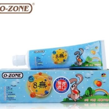 """O-ZONE""""8無""""换牙精护儿童牙膏(6岁以上)60g*2"""