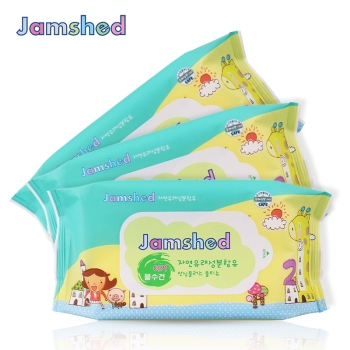 Jamshed简沐 婴童柔肤湿巾60抽*3