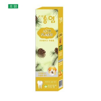 皓蓝 蜂胶茶洁牙膏100G(西柚蜂蜜味)*2