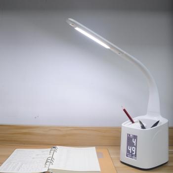 多功能护眼台灯 T188-1笔筒+万年历 带温度计功能