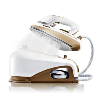 卓力 EB2559 增压蒸汽熨烫机 手持压力式 蒸汽电熨斗 香槟金