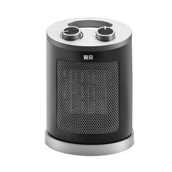 视贝 电暖器 桌面冷暖风机办公室家用迷你取暖器 摇头版 SH1126P