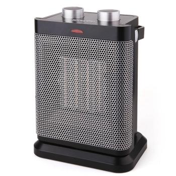 视贝 电暖器 冷暖机办公室家用迷你电暖气 摇头取暖器 SH1116P