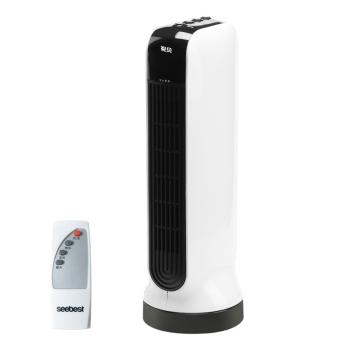视贝 1800W遥控式落地暖风机 四季通用 SH1127P
