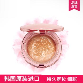 MCC彩妆韩国进口樱花烤制粉饼持久定妆遮瑕控油保湿修容专柜正品10G
