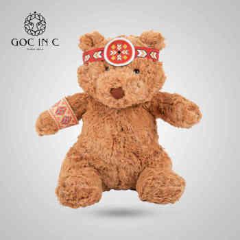 GOC IN C印第安兔电热饼暖手宝电暖宝充电安全防爆印第安熊暖宝(印第安熊)