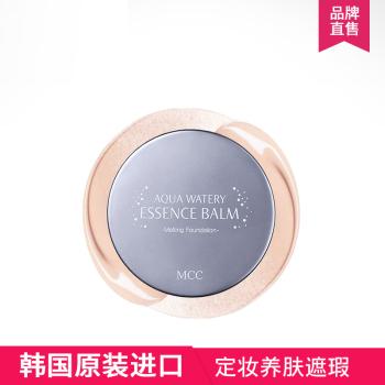 MCC 摩肯水润沁透精华粉饼干湿两用韩国进口彩妆遮瑕定妆靓白12g