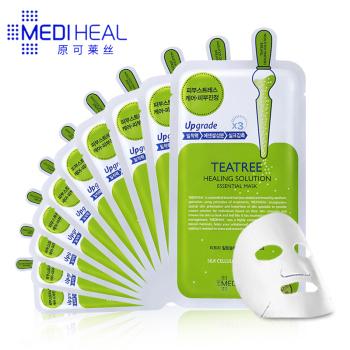 美迪惠尔茶树营养修护精华面膜10片