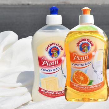 意大利进口公鸡头管家 洗洁精(马赛味)+(香橙味)