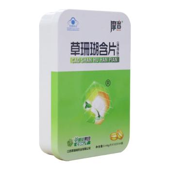 摩音草珊瑚含片(薄荷味)0.44g*12s*4板