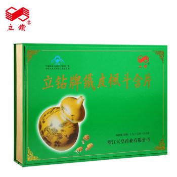 立钻牌铁皮枫斗含片0.5g*12片*10小盒