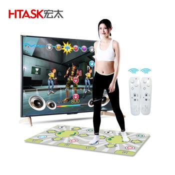 宏太HTASK 多功能健身瑜伽垫拉链跳舞毯HT-01DM