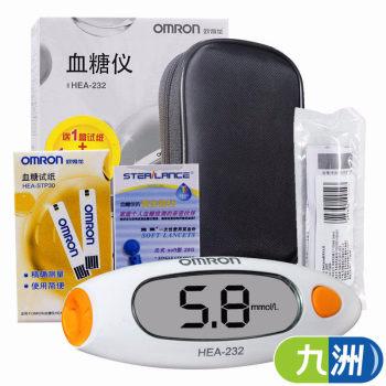 欧姆龙血糖仪HEA-232+25支试纸+25支针