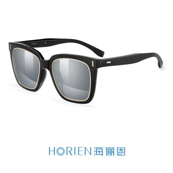 亮黑框+水银镀膜高清偏光太阳镜N6650-P16