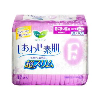 花王日用超薄卫生巾25cm17片*2包