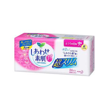 花王敏感肌日用超薄卫生巾20.5cm24片*2包