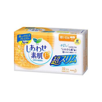 花王敏感肌日用超薄卫生巾17cm32片*2包