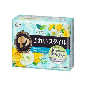 花王护垫72片柠檬香*2包