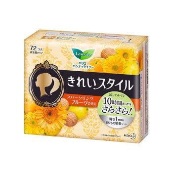 花王护垫72片水果香*2包