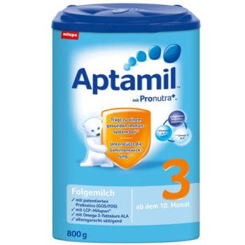 德国直邮 德国Aptamil爱他美奶粉3段(10-12个月宝宝) 800g