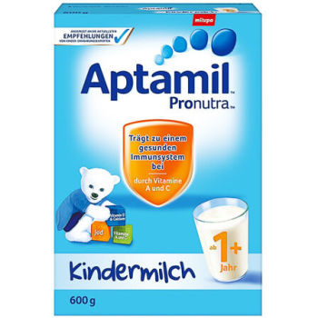 德国Aptamil爱他美奶粉1+段(12-24个月宝宝) 600g(22305)【6罐组合】