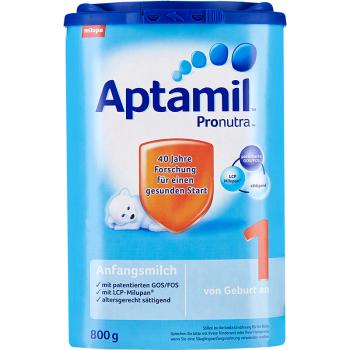 德国Aptamil爱他美奶粉1段(3-6个月宝宝)800g