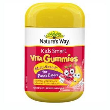 保税区直发 澳大利亚Nature's Way佳思敏 儿童维生素D补钙 60粒