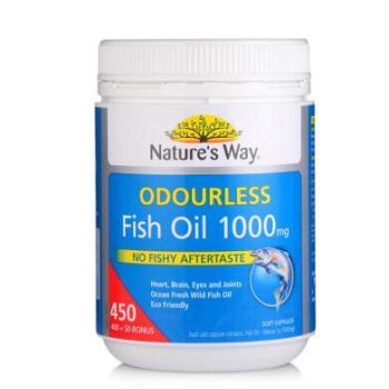 保税区直发 澳大利亚Nature's Way深海鱼油软胶囊欧米伽3 450粒