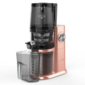 惠人四代机一体式接渣杯全自动榨汁机H-AI-RGBI20 玫瑰金