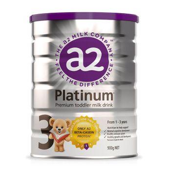 保税区直发 新西兰A2 Platinum酪蛋白婴儿奶粉3段(1-3周岁宝宝)900g