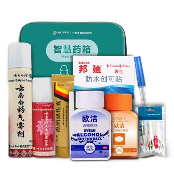 【智慧药箱】家庭常备套餐 活血化瘀 创伤修复